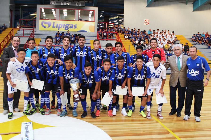 Fútbol Joven acerero reconoció a sus talentos en emotiva gala
