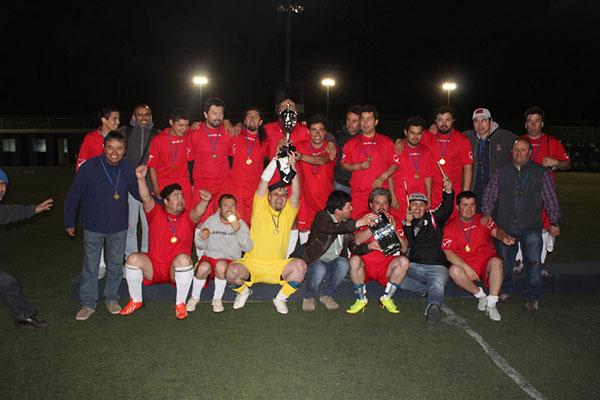 Bureau Veritas venció a CAFA y se consagró campeón