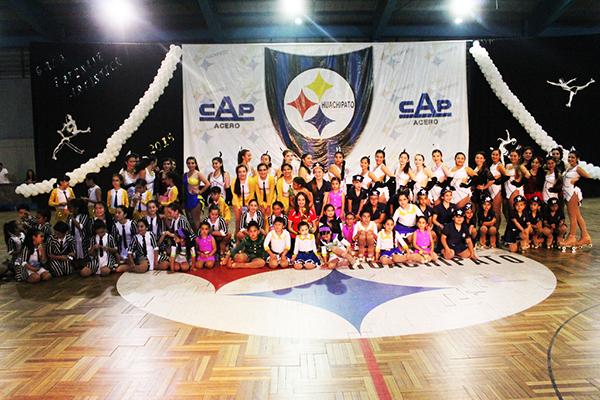 Rama de Patinaje Artístico cerró año con una gala de gran nivel