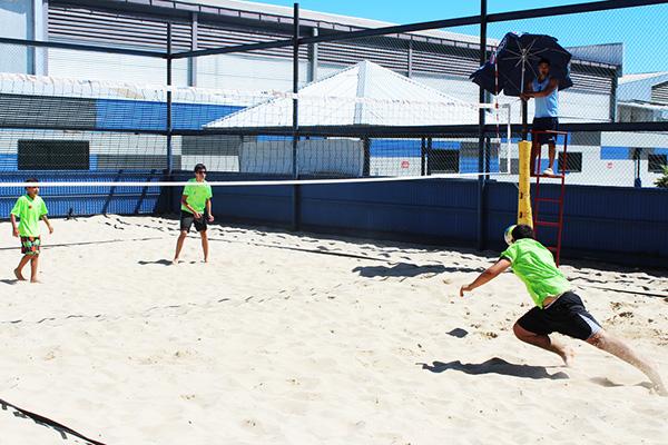 Voleibolistas demostraron su mejor juego al aire libre