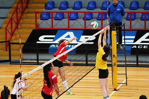 En el CDH se dio el vamos a la Liga Sur de Voleibol