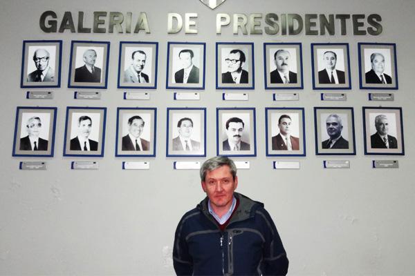 Rodrigo Briceño, nombrado nuevo Presidente del C.D.Huachipato