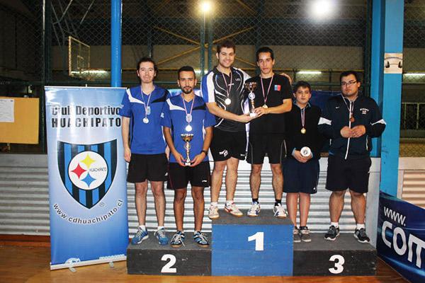 UDD y Premant Limitada fueron ganadores del Apertura de Tenis de Mesa