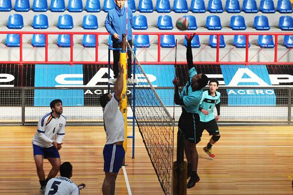 """""""Copa Huachipato"""" y """"Liga Sur"""", escenarios perfectos para el vóleibol"""