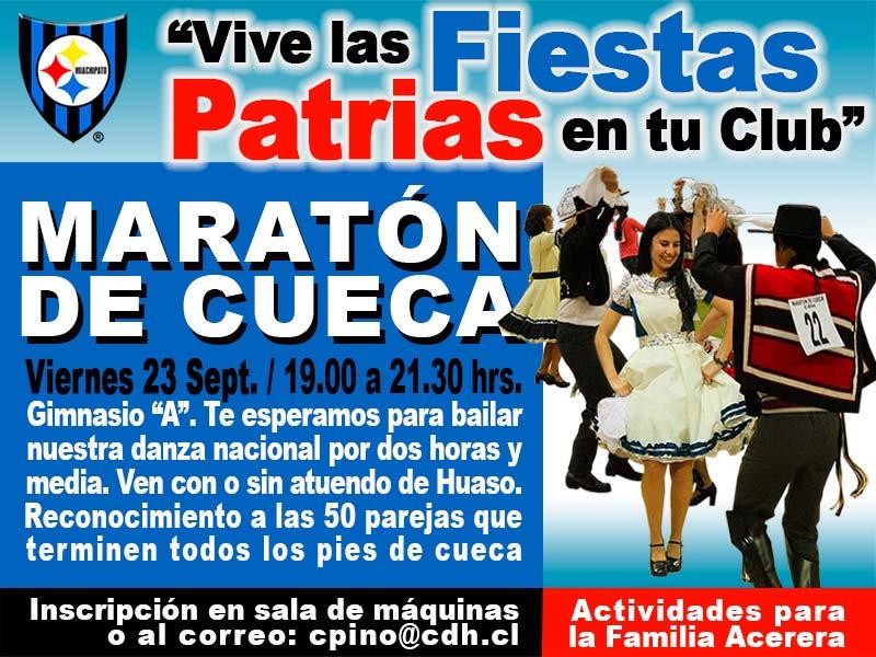 Participa en la Maratón de Cueca del CDH