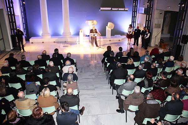 El arte acerero expone en el Museo Arqueológico de Kavala Grecia
