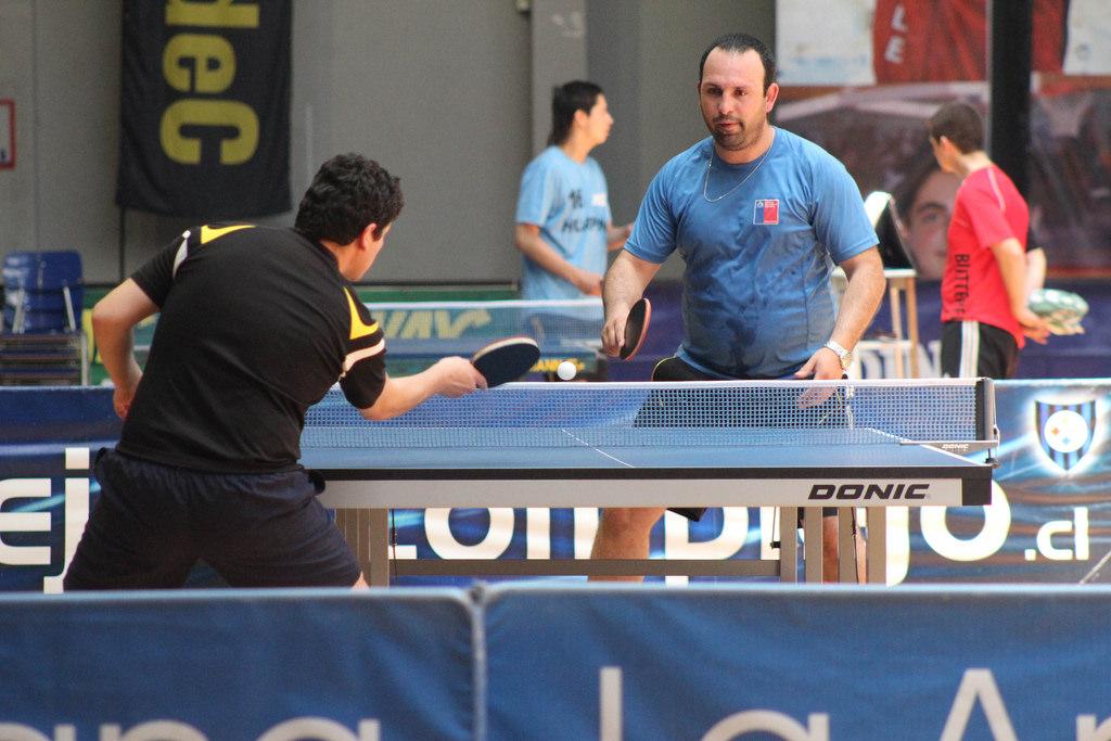 Paleteros de la región se dieron cita en Primer Open de Tenis de Mesa