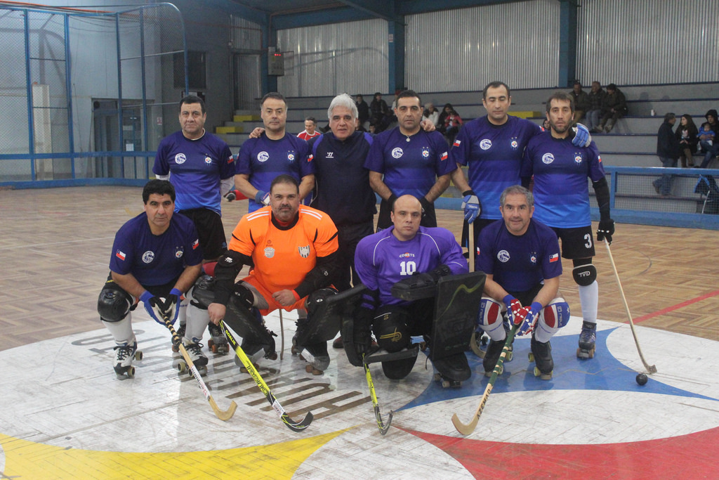 El equipo senior de Hockey patín vuelve de Viña del Mar con dos victorias
