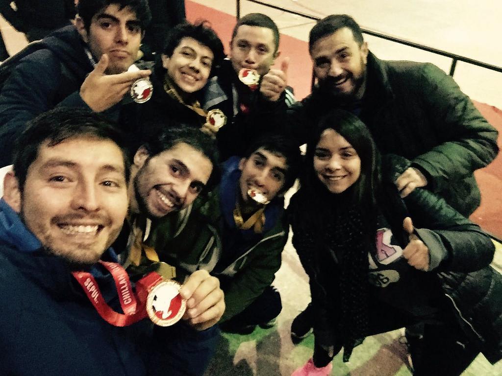Gran actuación de taekwondistas acereros en torneo de Chillán