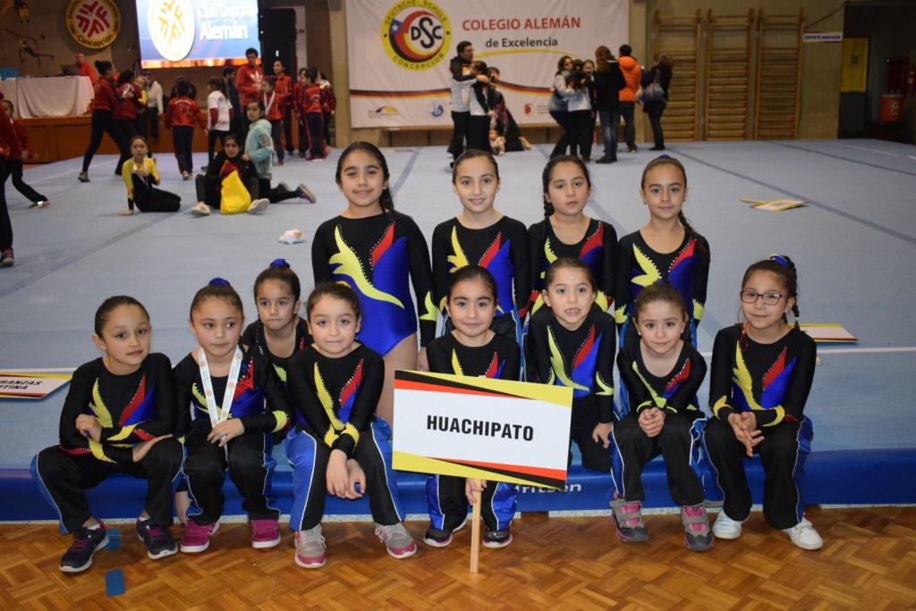 Gimnasia Artística tuvo destaca participación en San Pedro