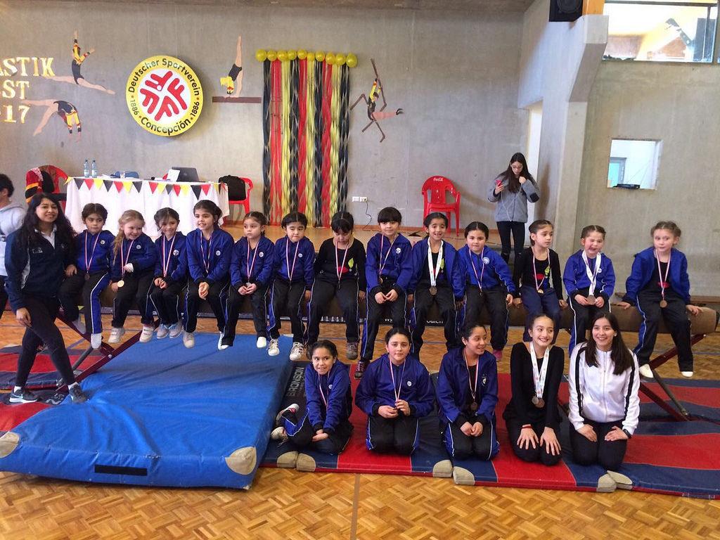 Gimnasia Artística tuvo una destacada actuación en Torneo Iniciación
