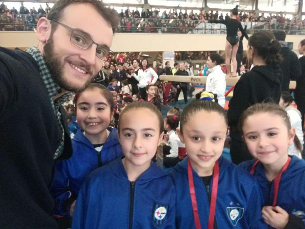 Pequeñas de la gimnasia artística brillaron en Torneo Nacional