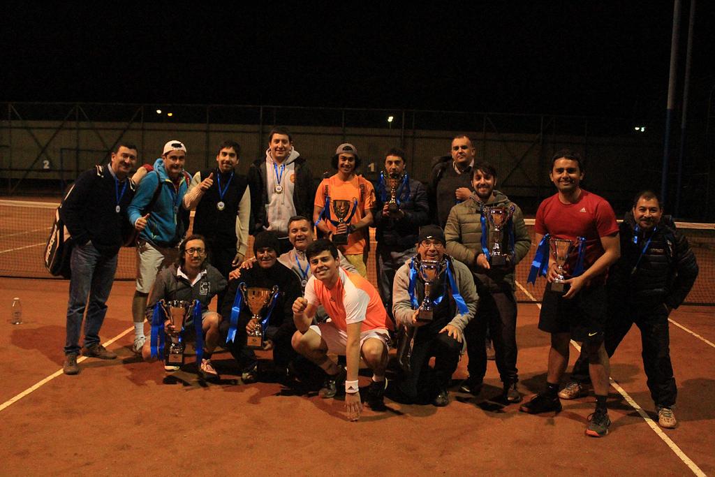 Liga de Tenis acerera culminó su torneo de apertura