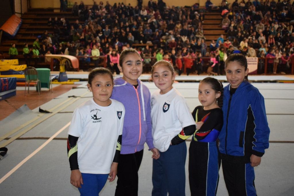 Deportistas de Gimnasia Artística dijeron presente en torneo disputado en Rancagua