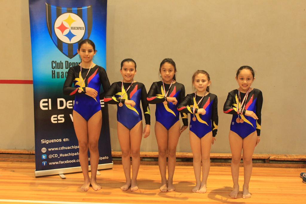 Deportistas del C.D.Huachipato se lucieron en Torneo Internacional de Gimnasia Artística