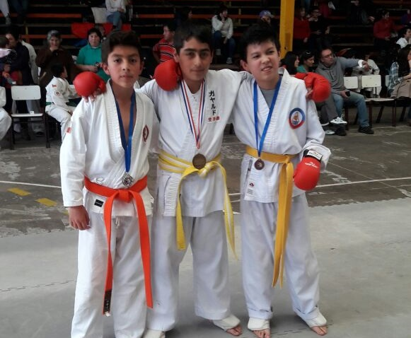 Karatecas acereros se lucieron en San Carlos