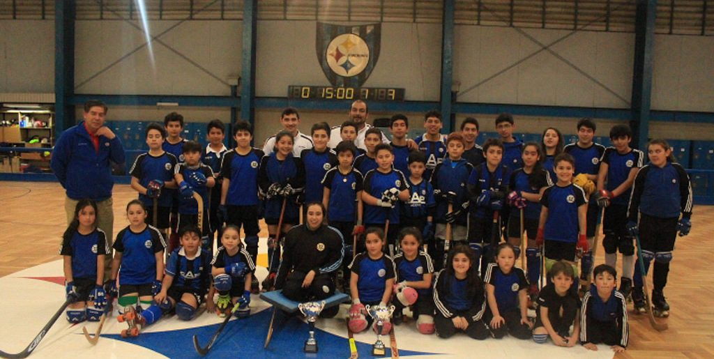 Hockey Patín gritó campeón en Santiago