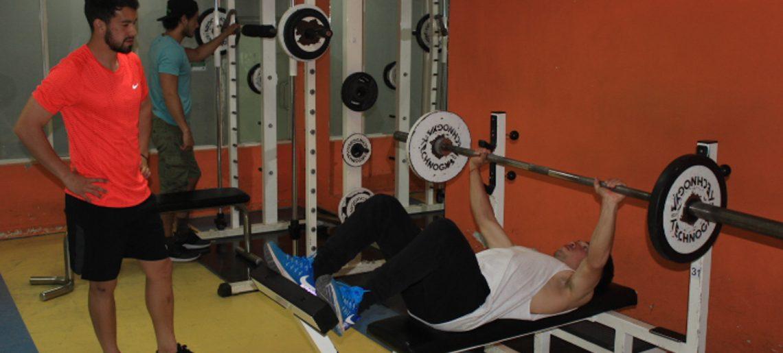 Sala de Acondicionamiento Físico centro neurálgico del Deportivo