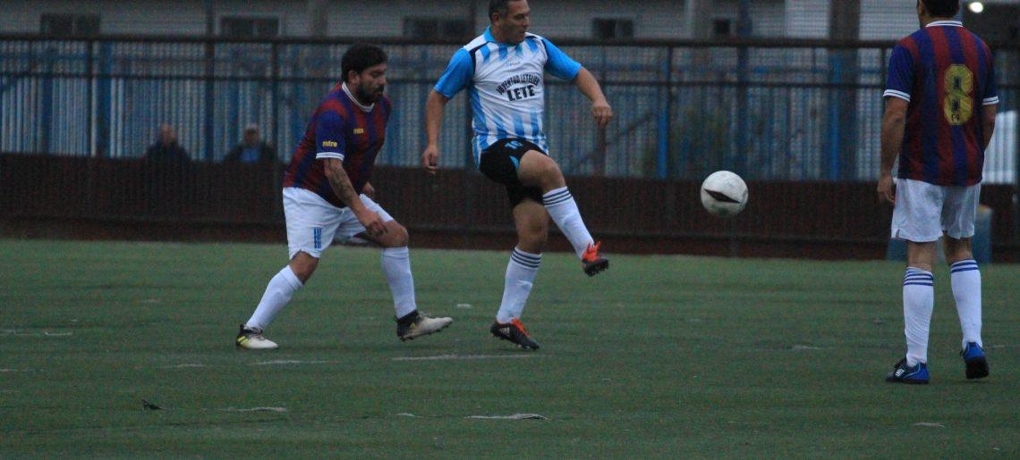 Rodibarras y Hospital Higueras celebraron en primera fecha del fútbol amateur