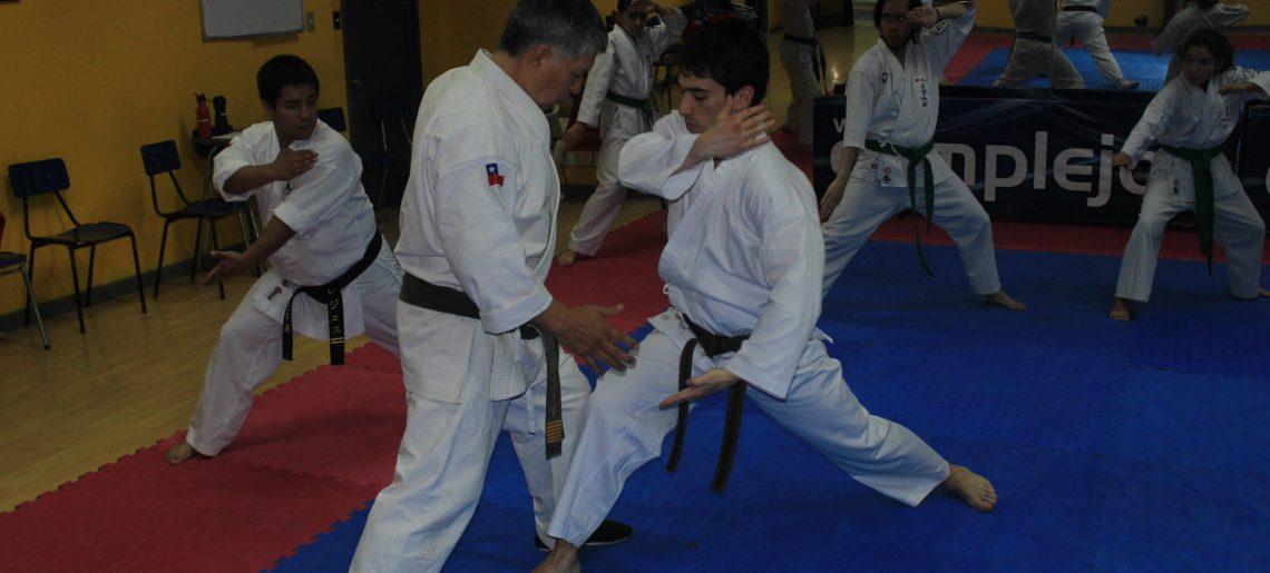 Rama de Karate realizó curso de arbitraje