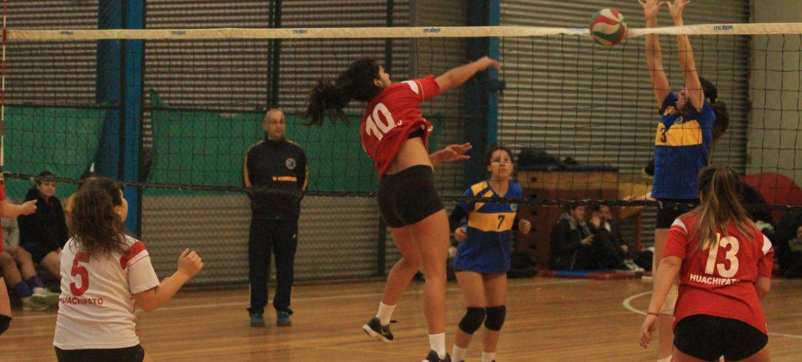 Voleibol damas arrancó su periplo en Liga Sur
