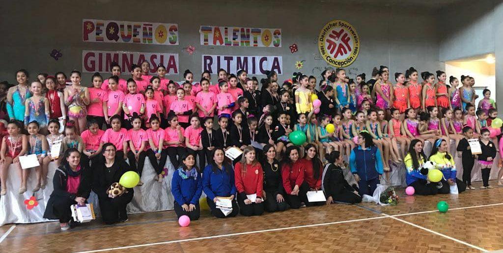 Gimnastas se dieron cita en el Club Deportivo Alemán