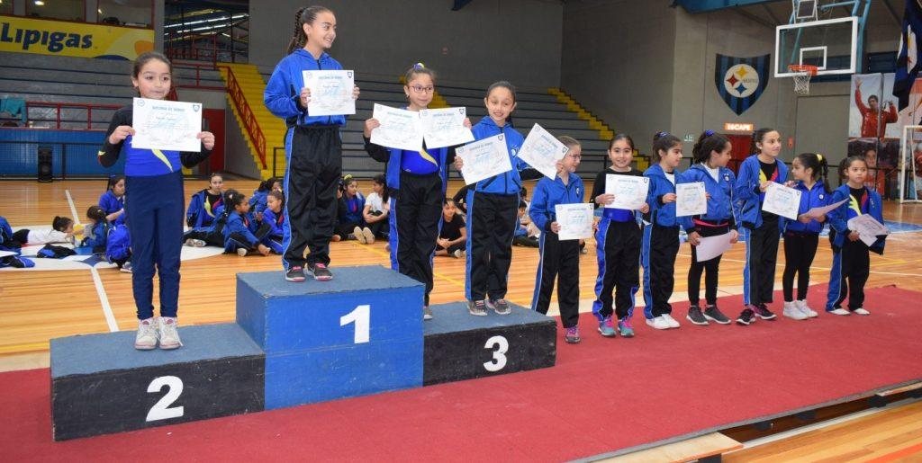 Gimnasia Artística tuvo su torneo interno
