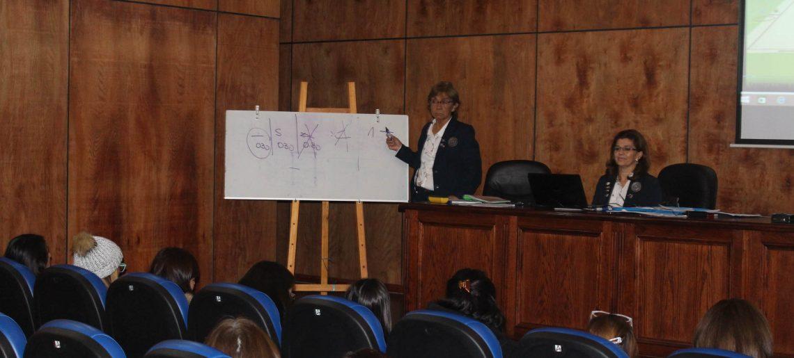 C.D.Huachipato albergó curso nacional para jueces de Gimnasia Rítmica