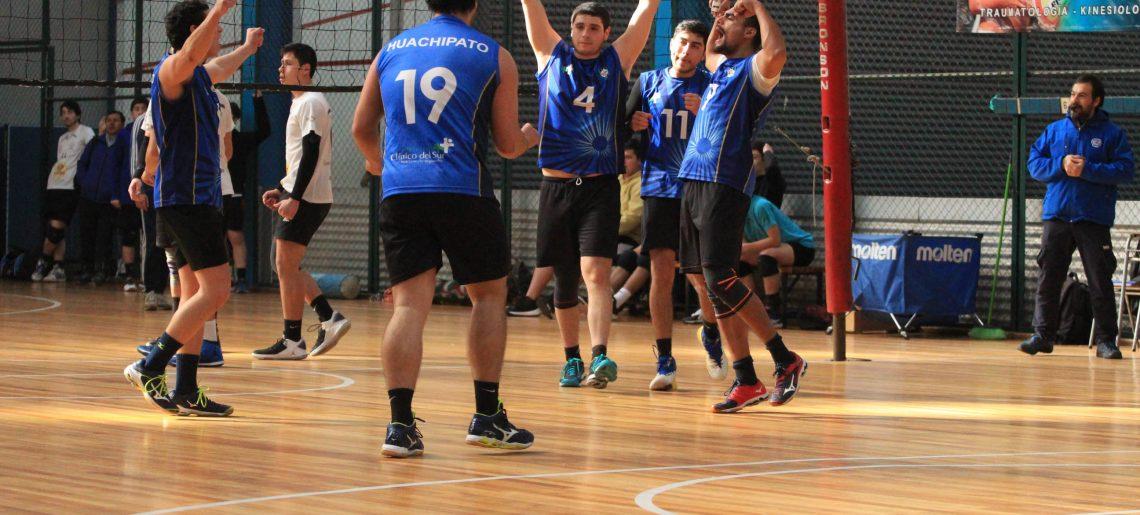 Voleibol varones sigue festejando en Liga Sur