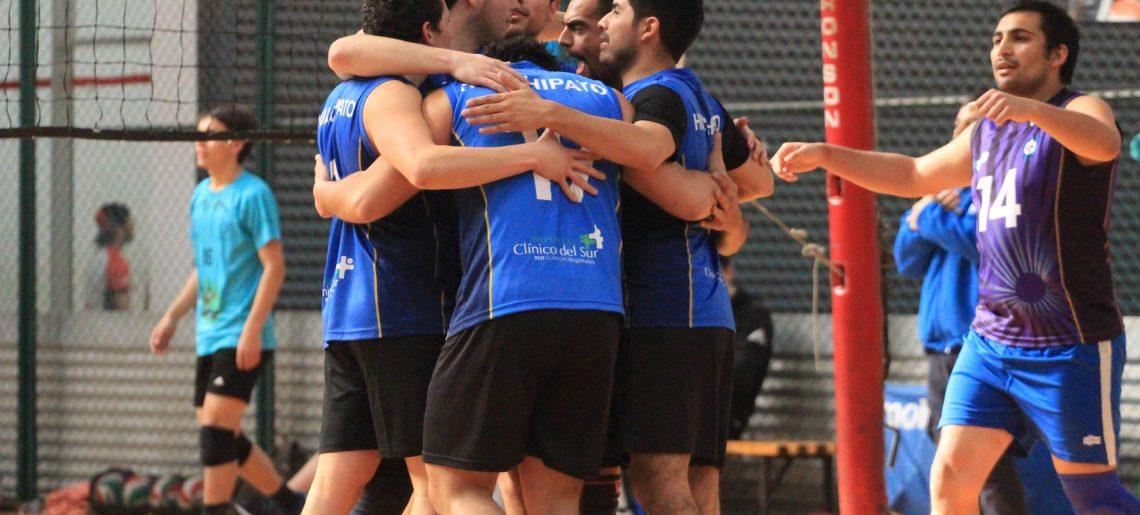 Gran experiencia tuvo el equipo varones de voleibol en Liga A3