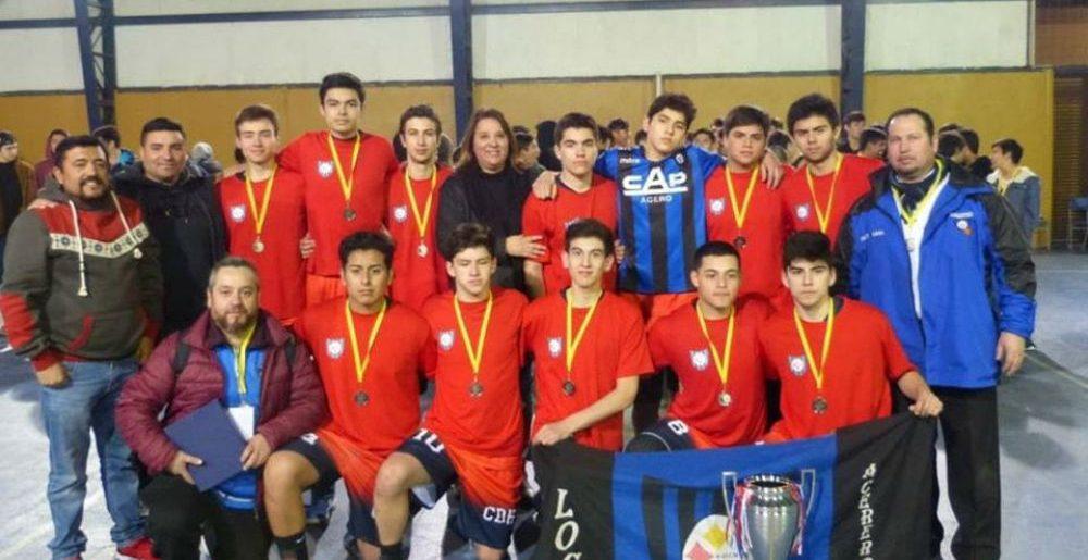 Básquetbol acerero logró segundo lugar en Codegua