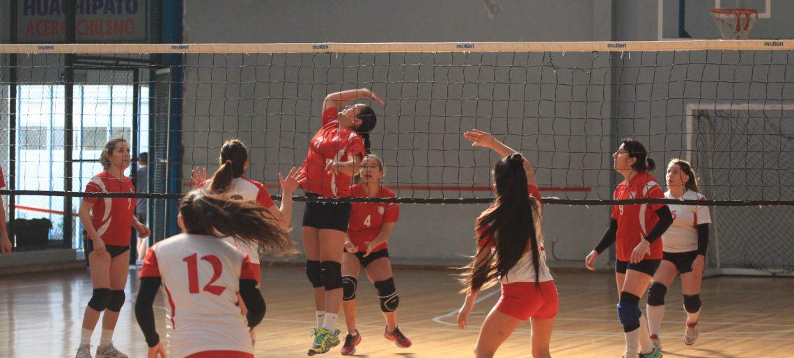 Los triunfos no paran en el voleibol femenino