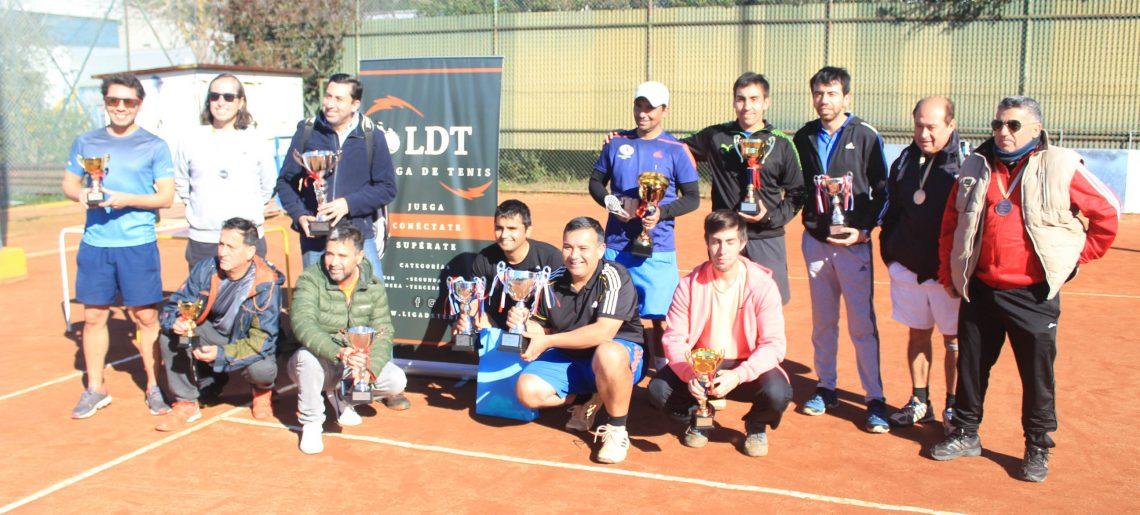 Liga de Tenis acerera culminó torneo de apertura