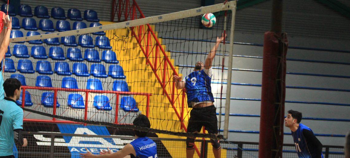 Voleibol varones sumó tres victorias en Liga Sur