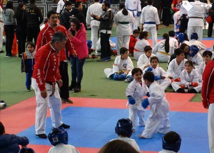 """Gran actuación del Karate acerero en """"Copa Concepción"""""""