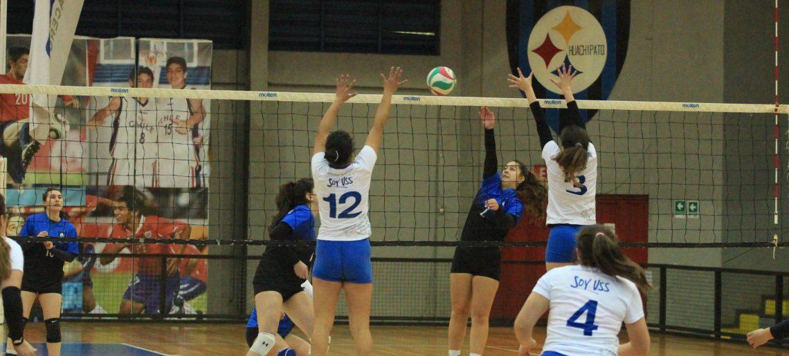 Voleibol femenino continúa con la buena racha en Liga Sur