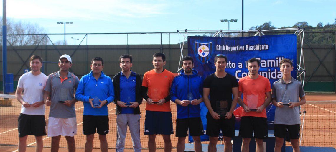 Las mejores raquetas de la región se dieron cita en el Club Deportivo Huachipato