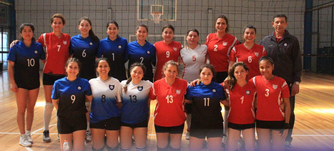 Gran actuación del voleibol femenino en Lota y Los Ángeles