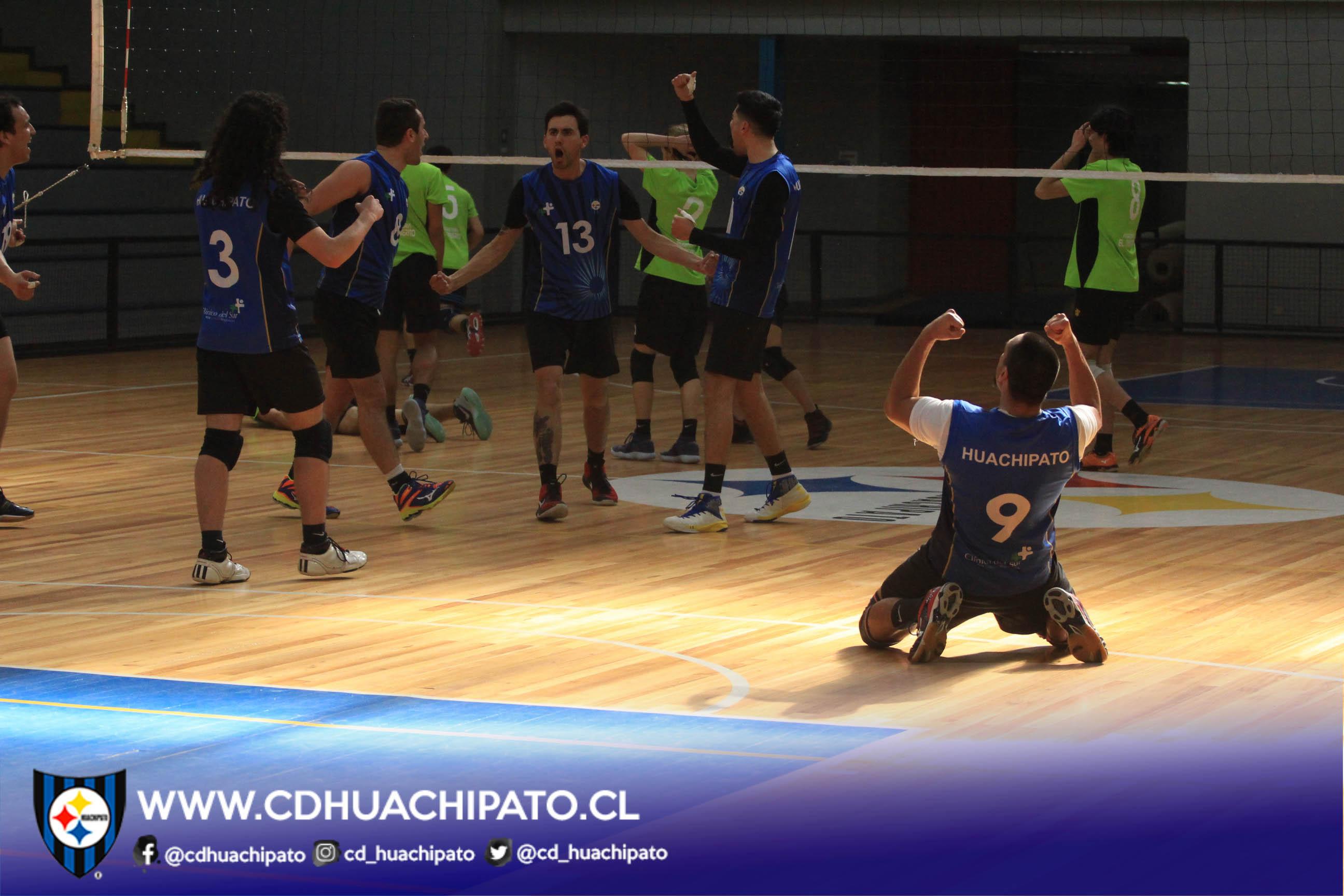Equipo masculino gritó campeón en Liga Sur de Voleibol