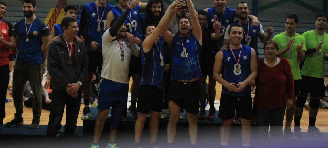 Equipo masculino de voleibol acerero gritó campeón en Liga Sur