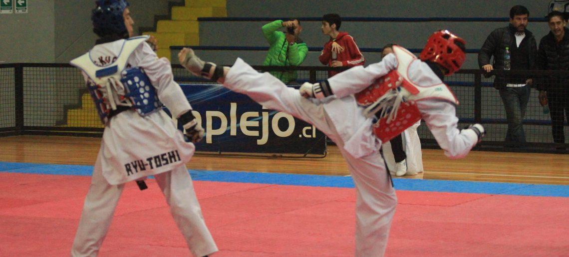 El taekwondo se tiñó de oro en Chillán