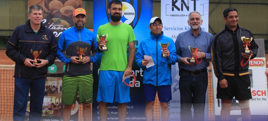 Tenistas senior demostraron todo su talento en la arcilla del C.D.Huachipato
