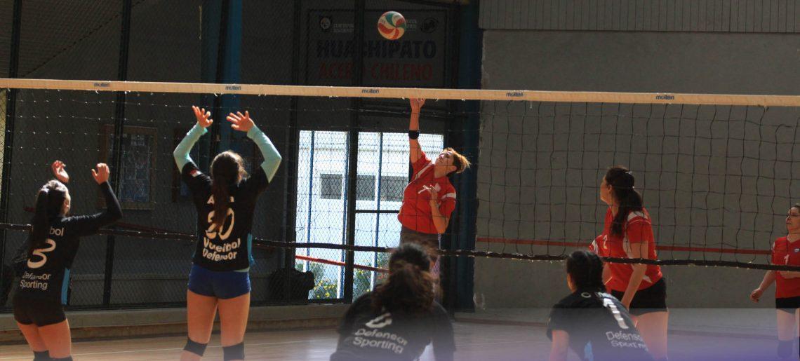 Voleibol acerero sigue en gran nivel