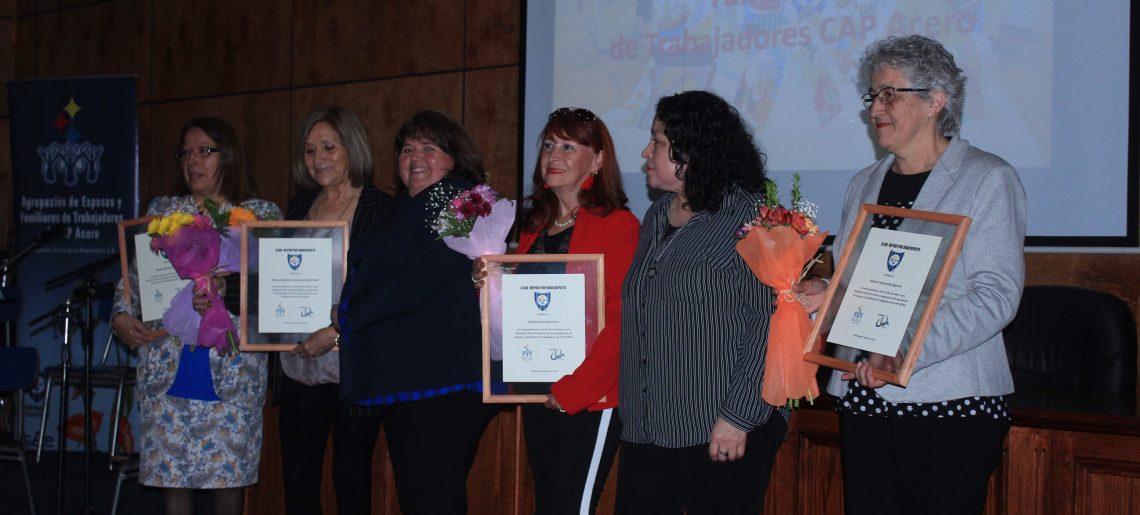 Agrupación de Esposas  y Familiares de Trabajadores CAP Acero celebró 70 años de vida