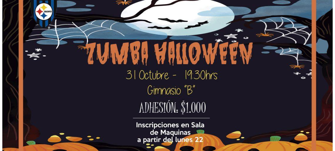 Ya están abiertas las inscripciones para masivo de Zumba Halloween