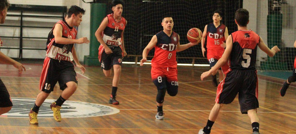 Básquetbol acerero sub 18 varones  viajó a Puente Alto a revalidar título