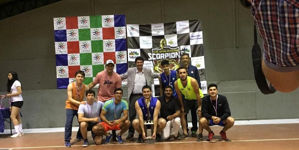 Voleibol Acerero Damas y Varones tuvieron destacada participación campeonato nacional de invitación  disputado en Cabrero