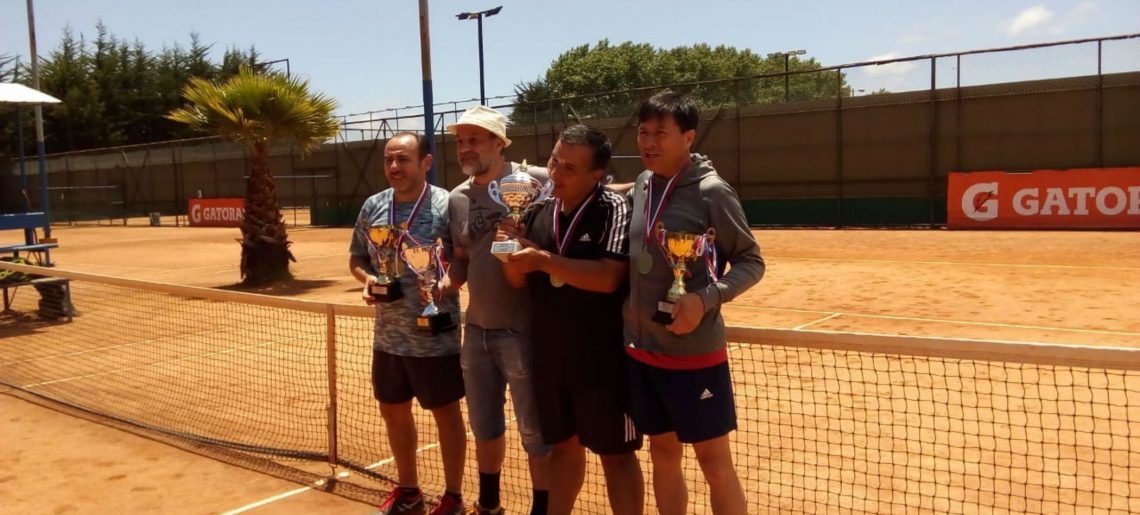 Liga senior de Tenis llegó a su fin