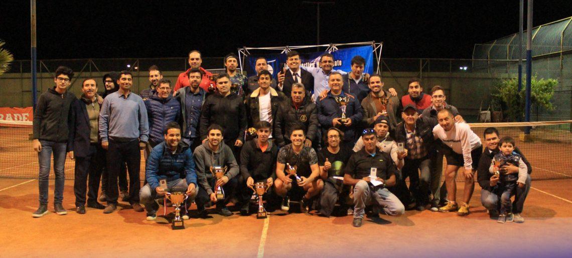 Socios del C.D. Huachipato culminaron su Liga de Tenis