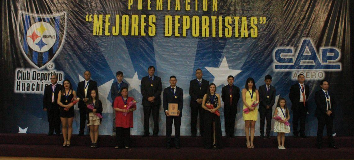 Club Deportivo Huachipato premia a sus mejores deportistas del 2018